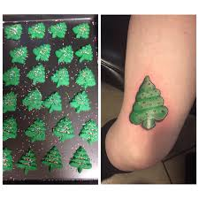 christmas tree cookie or green emoji tattoo album on imgur
