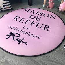 online shop round pink maison de reefur carpet fashion non slip