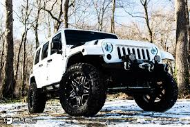 black jeep black rims jeep wrangler full blown d554 gallery fuel off road wheels