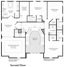 elara 4 bedroom suite floor plan the woods of south barrington signature collection the