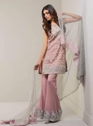 light pink dama dresses mauve with grey dupatta dress