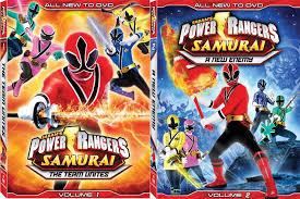 power rangers samurai dvd volumes forces geek