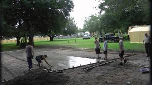 Outdoor Basketball Court Cost Estimate by Loving Basketball Court Project Concrete Pour Of