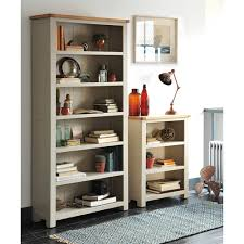 lundy stone grey large bookcase 390 031 with free delivery the