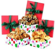 Pastry Gift Baskets Holiday Keepsake Tin Tower 79 95 Christmas Gifts Pinterest