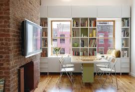 Small Space Living Part 2 by A Small Family Apartment In The City U2014 Noroof Architects Desks