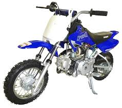 wheels motocross bikes spider 50 dirt bike automatic w electric start w training wheels