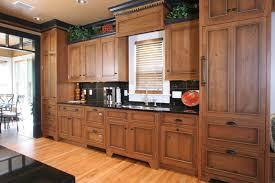 honey cabinets kitchen