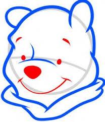 draw draw winnie pooh easy hellokids