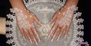 top beautiful white henna designs white henna trendy