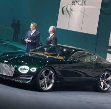 bentley exp 10 neues british racing green bentley exp 10 speed 6
