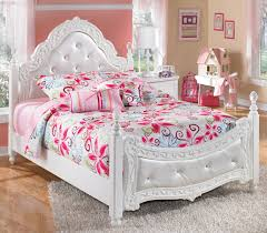 signature bedroom furniture signature design by ashley exquisite full ornate poster bed with