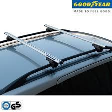 porta pacchi auto coppia barre portatutto portapacchi per auto railings alluminio
