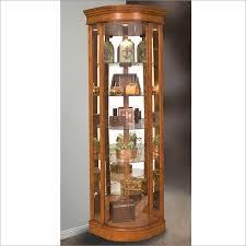 Corner Curio Cabinet Kit Cabinet Awesome Curio Cabinet Ideas Pulaski Curio Cabinets