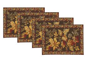 april cornell placemats adirondack brown set of 4