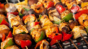 cuisine au barbecue brochettes de légumes au barbecue barbecue barbecues