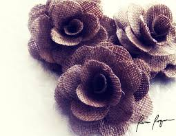burlap flowers wholesale burlap flowers for weddings and craft projects
