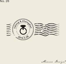 timbre personnalisã mariage personnalisé joint 2 7 x 1 1 anneau cachet de la poste timbre