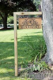 Outdoor Decorative Signs Best 25 Custom Yard Signs Ideas On Pinterest Woodworking Ideas