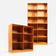 Bookcase Pine Mogens Koch Set Of Three Bookcases In Oregon Pine For Rud Rasmussen