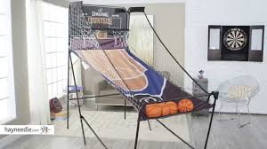spalding courtside 2 player arcade basketball game product
