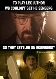 Heisenberg Meme - nerd reactor on twitter they couldn t get heisenberg so wb got