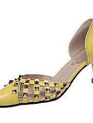 Comfort Sandals For Walking Yellow Bridal Shoes Low Heel Lightinthebox Com