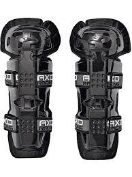 axo motocross gear axo black 2018 de luxe jr pair of kids mx knee guard axo
