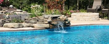 landscape design artificial waterfalls fountains and ponds