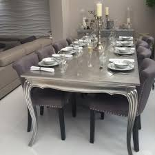 Silver Dining Tables Bespoke Silver Gold Leaf X Large 2 4m Dining Table Various