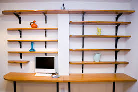 Diy Large Desk Furniture Large Diy Desk With Storage Shelves 18 Diy Desks To