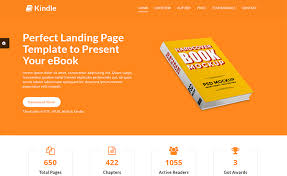 download responsive free html5 ebook landing template available