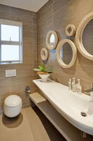 mesmerizing unique bathroom mirrors also long washbashin design