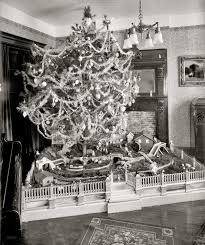 vintage christmas tree shorpy historical photo archive santa fe 1920 christmas