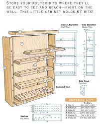 cabinet plans router bit cabinet plans u2022 woodarchivist