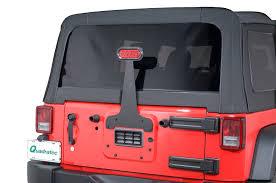 jeep wrangler third brake light grabars 1011 plain 3rd brake light for 87 18 jeep wrangler yj tj