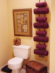 bathroom towel decorating ideas bathroom towel storage 12 creative inexpensive ideas