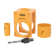 Tile Hole Saw Screwfix by Jcb Door Lock Installation Kit 4 Pieces Of 4 Departments Diy