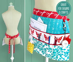 sewing and craft half apron sew4home