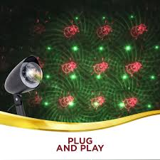 red and green led christmas lights outdoor christmas lights led xmas laser projector red green dots