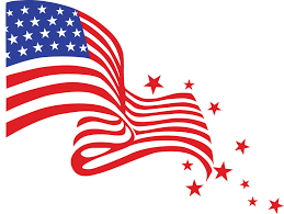 American Flag Words 4th Of July Clip Art Clip Art Of The Words 4th Of July Clip Art