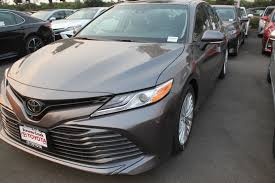 new 2018 toyota camry xle v6 4dr car in san jose c180347