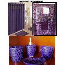 Leopard Bathroom Rugs 19 Bath Accessory Set Purple Leopard Bathroom Rugs Shower