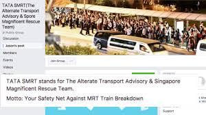 mrt breakdown support group on facebook offers free car rides