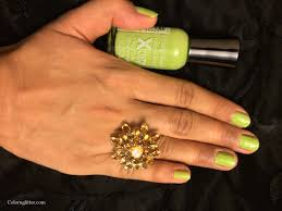 sally hansen hard as nails xtreme wear green with envy color n