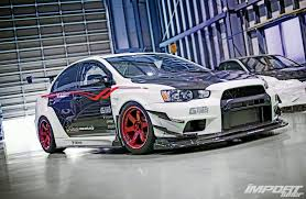 widebody evo garage g force mitsubishi evolution x a kaizen evolution photo