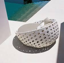 canape rond exterieur canapé rond contemporain de jardin en fibres synthétiques