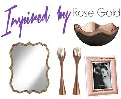 Rose Gold Home Decor by Home Decor Inspired By Rose Gold Lamps Plus