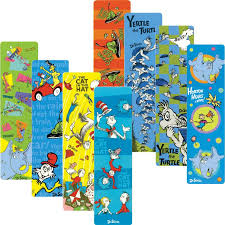 dr seuss assorted gift wrapping paper dr seuss bookmarks