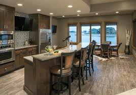 basement bar ideas rustic basement transitional with recessed